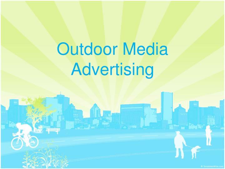 Outdoor Media Advertising