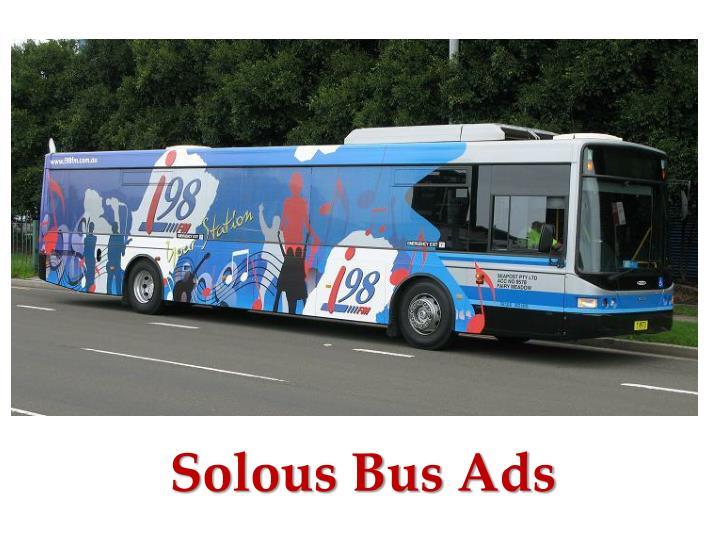 Solous Bus Ads