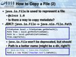 how to copy a file 2