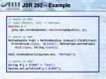 jsr 292 example