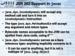 jsr 292 support in javac