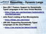 resources dynamic langs