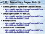 resources project coin 3