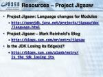 resources project jigsaw