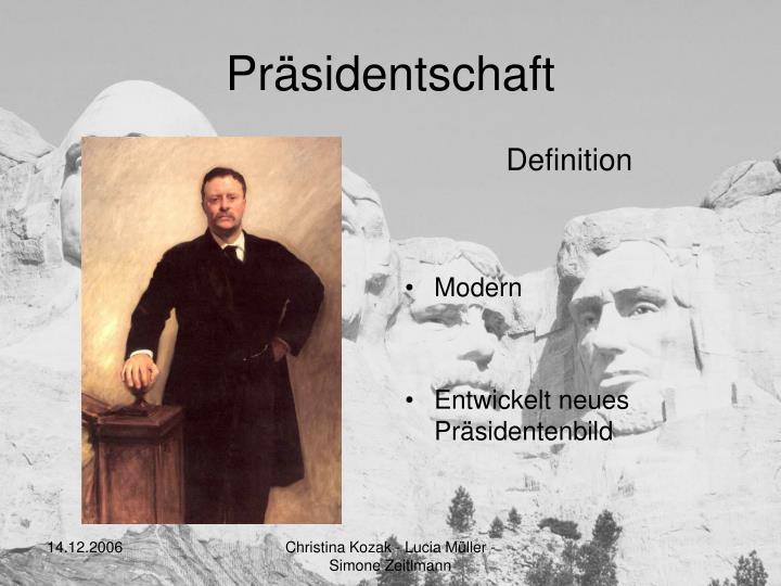 Präsidentschaft
