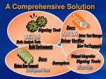 a comprehensive solution
