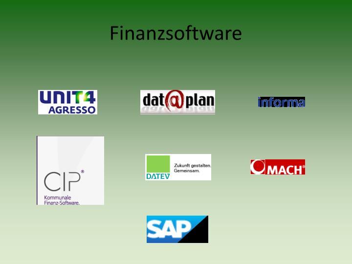 Finanzsoftware