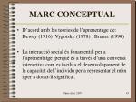 marc conceptual