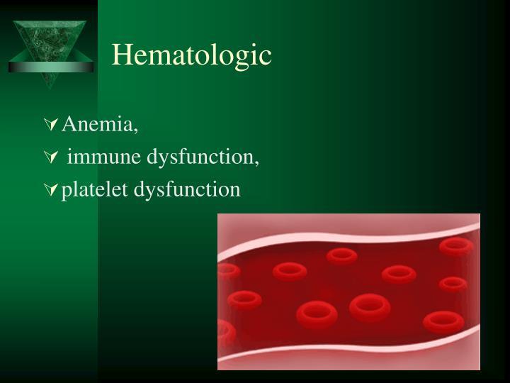Hematologic