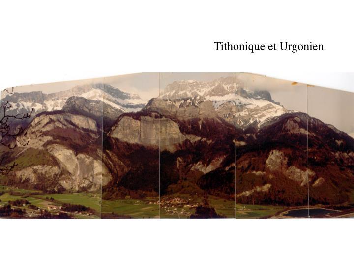 Tithonique et Urgonien