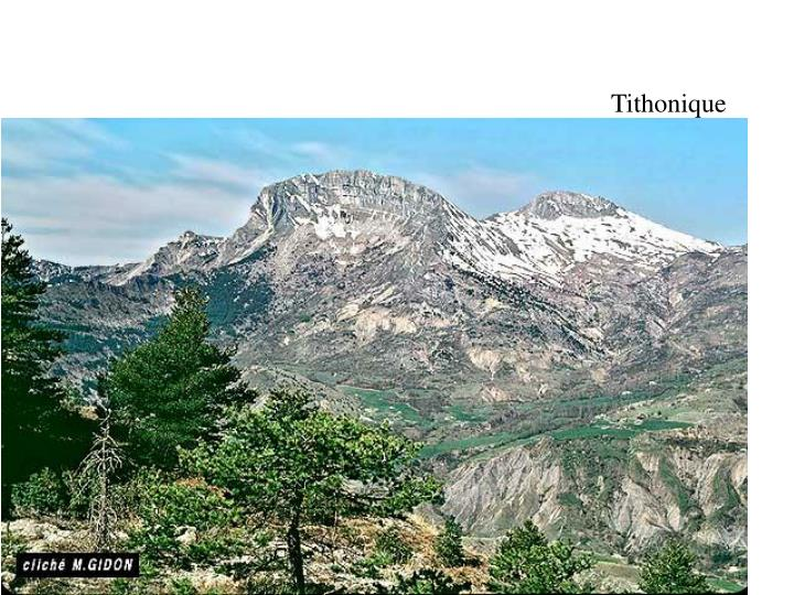 Tithonique