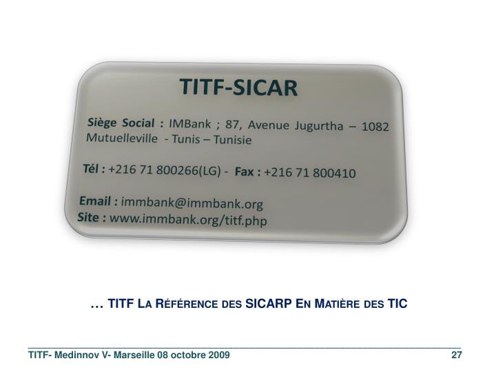 TITF-SICAR