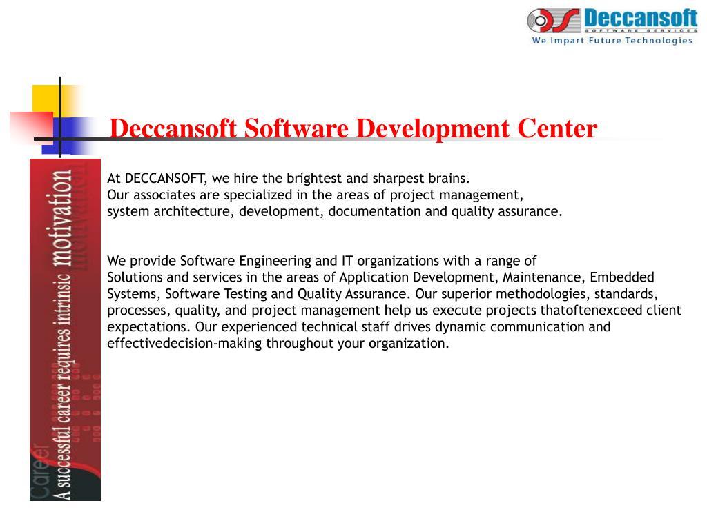 Deccansoft Software Development Center