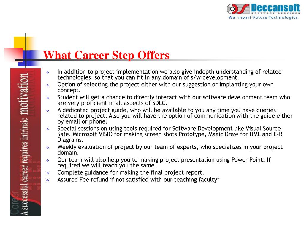 What Career Step Offers