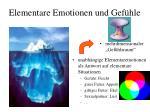 elementare emotionen und gef hle