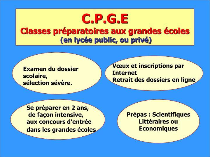 C.P.G.E