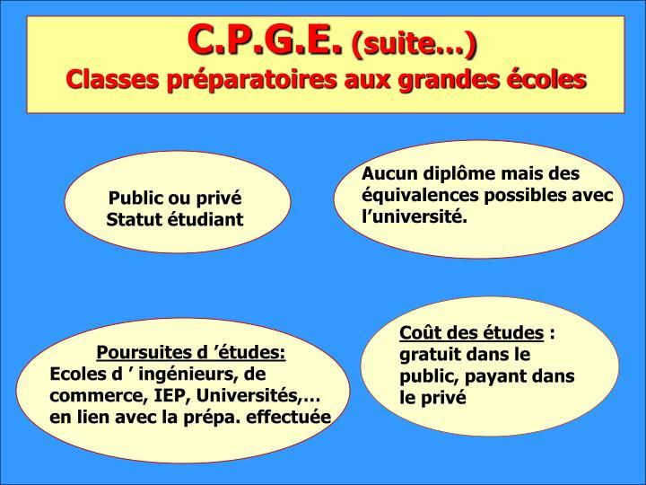 C.P.G.E.