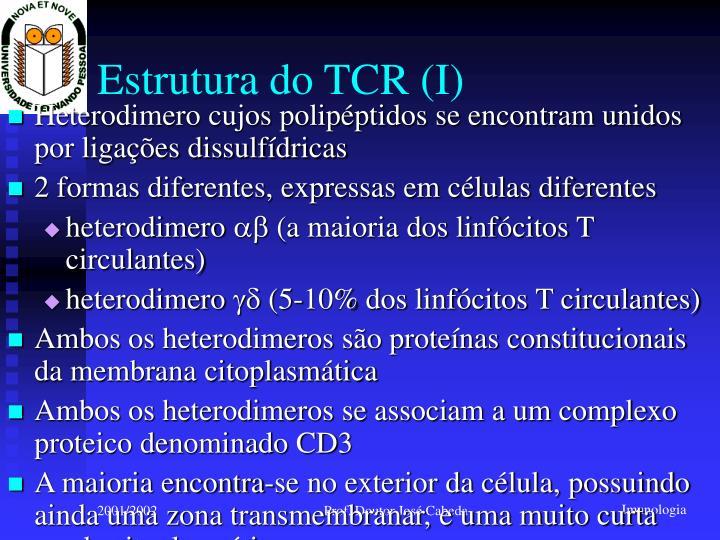 Estrutura do TCR (I)