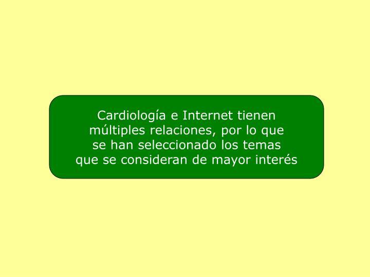 Cardiología e Internet tienen