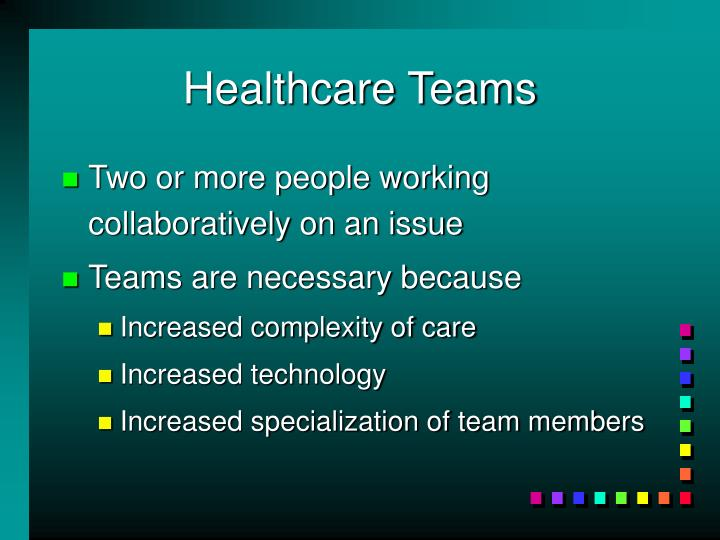 Healthcare Teams
