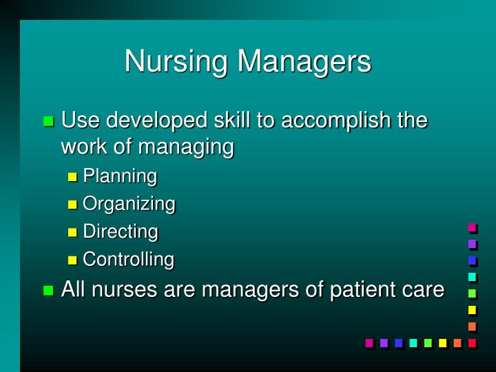 Nursing Managers
