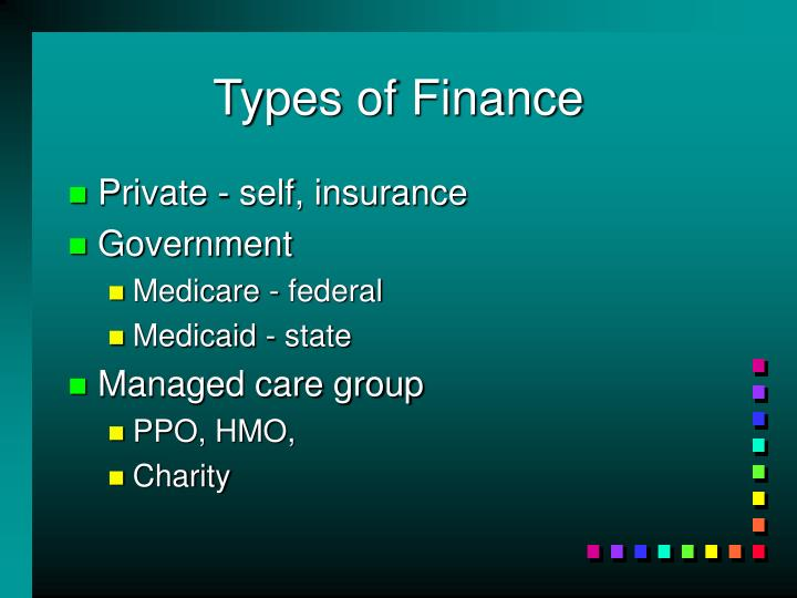 Types of Finance