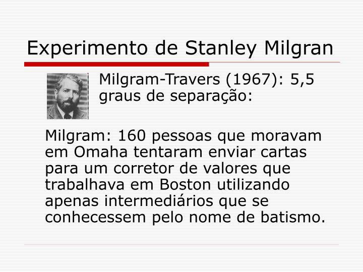 Experimento de Stanley Milgran