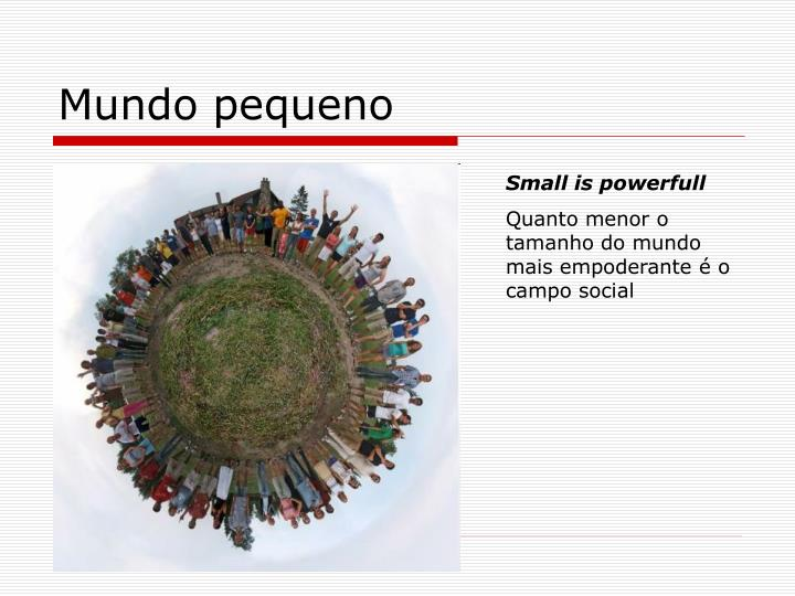 Mundo pequeno