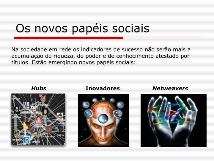 Os novos papéis sociais