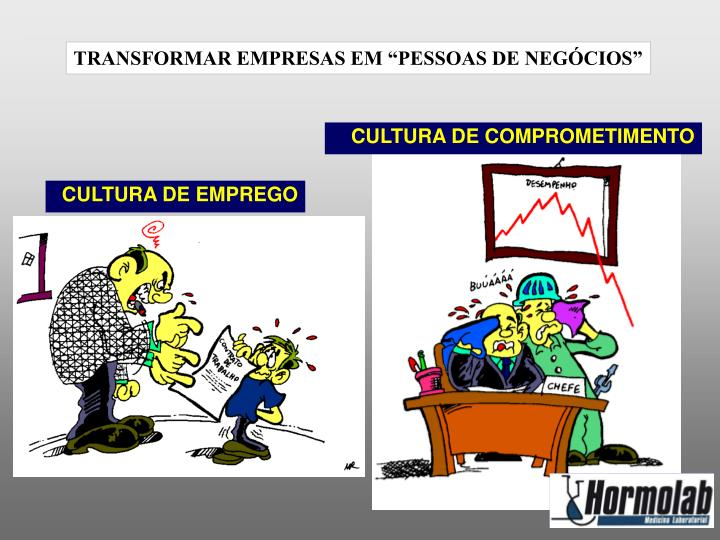 CULTURA DE COMPROMETIMENTO