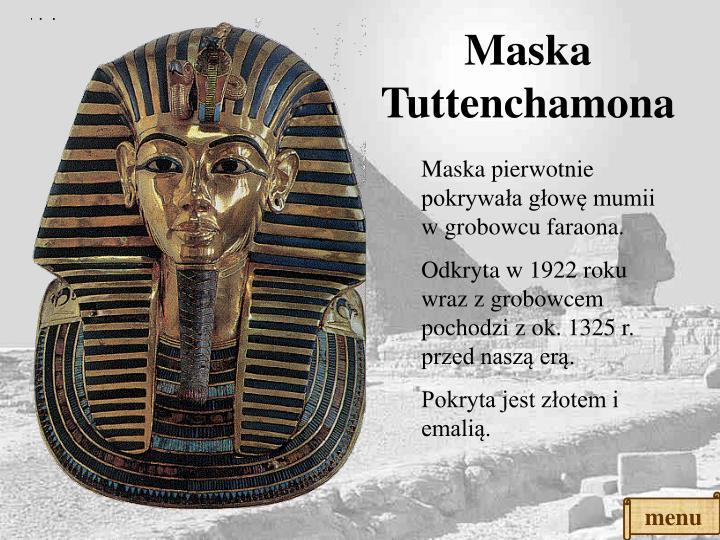Maska Tuttenchamona