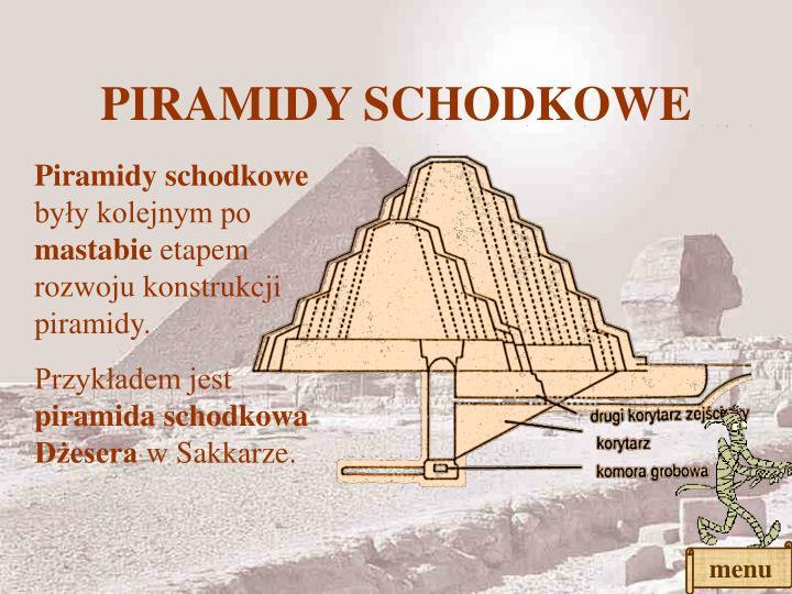PIRAMIDY SCHODKOWE