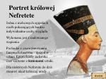 portret kr lowej nefretete