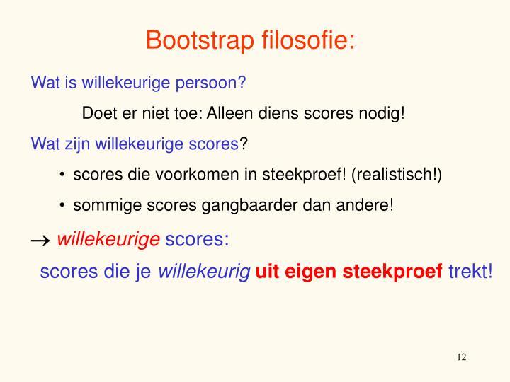 Bootstrap filosofie: