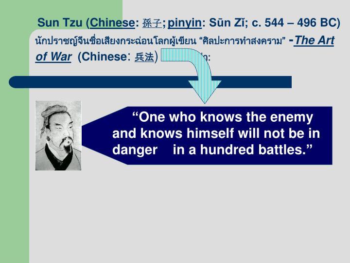 Sun Tzu (