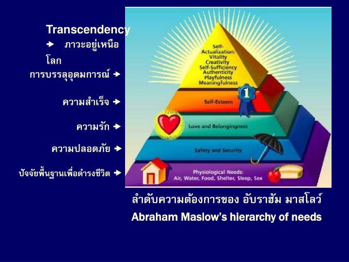 Transcendency