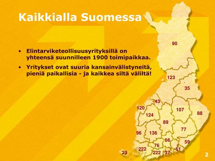 Kaikkialla Suomessa