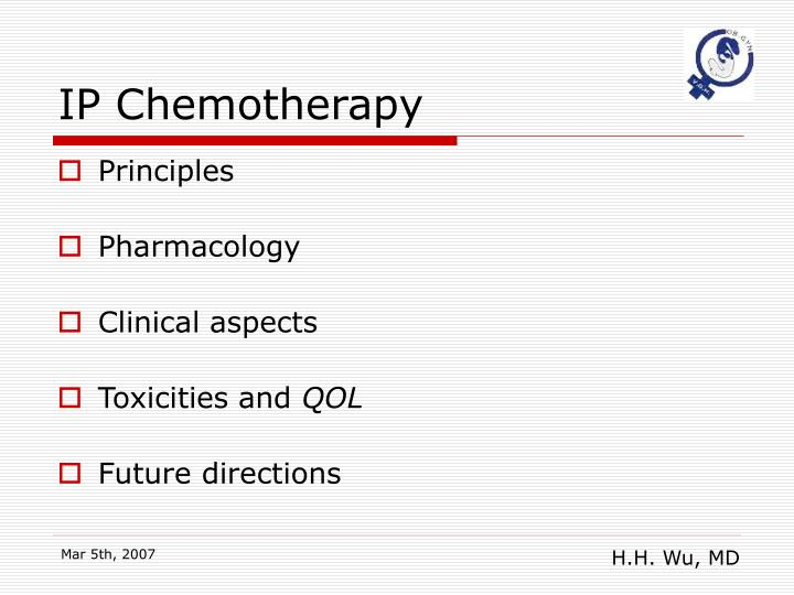 IP Chemotherapy