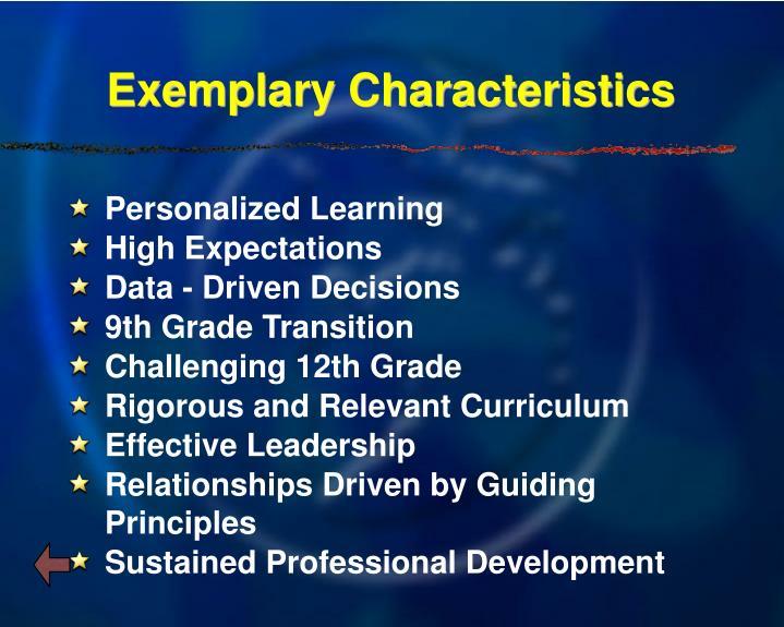 Exemplary Characteristics