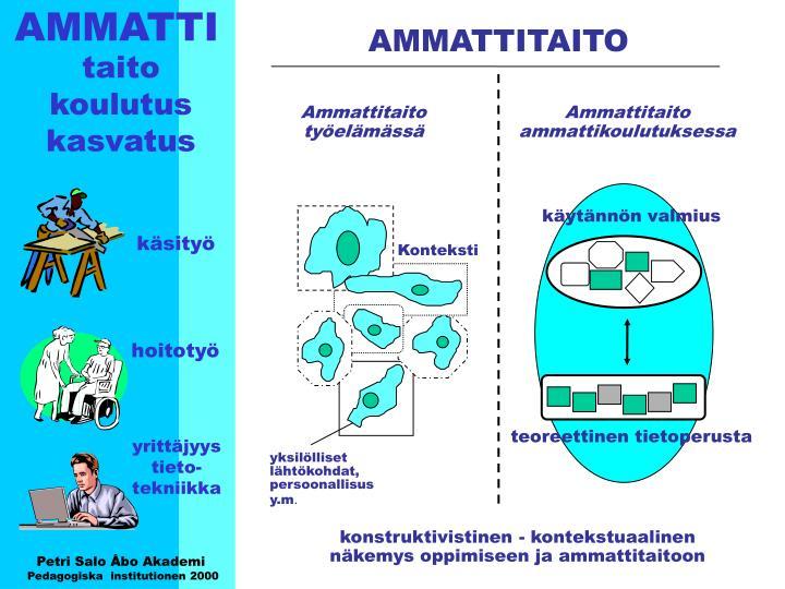 AMMATTI