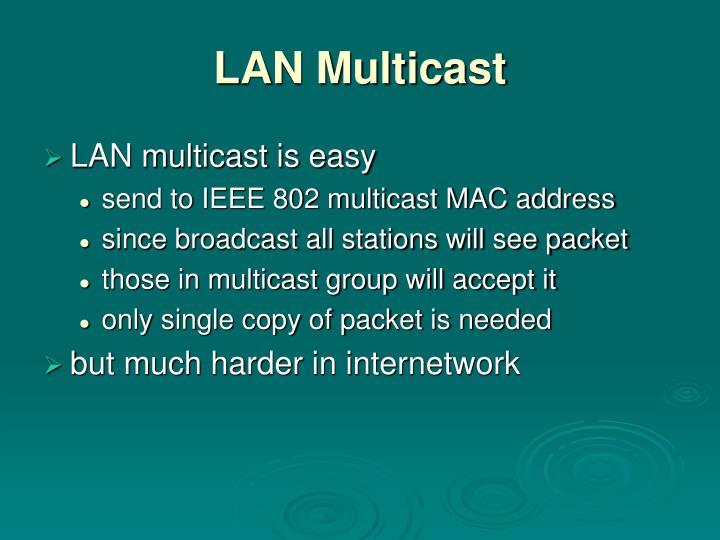 LAN Multicast