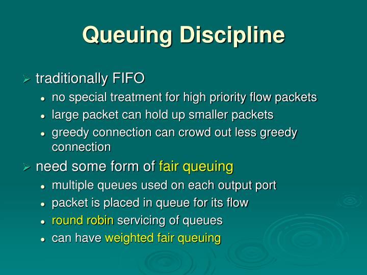 Queuing Discipline
