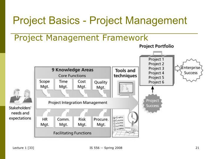 Project Basics - Project Management
