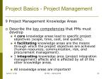 project basics project management6