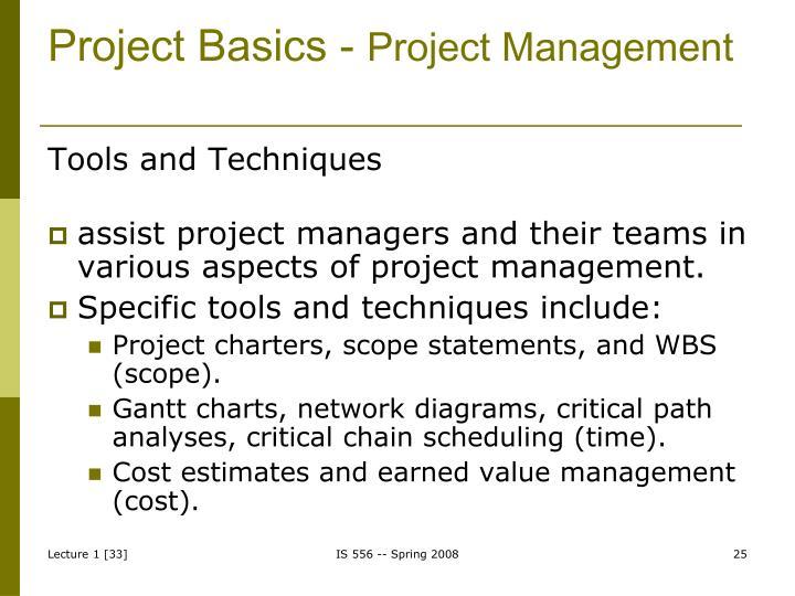 Project Basics -