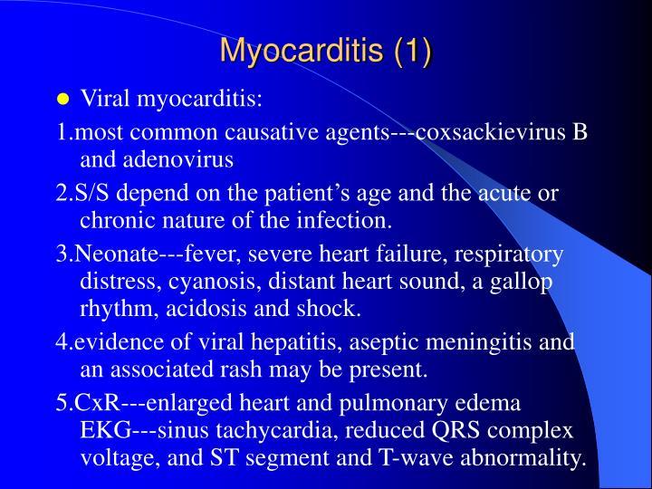 Myocarditis (1)