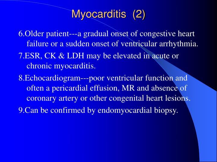 Myocarditis  (2)