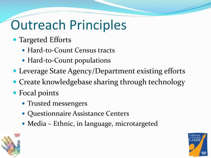 Outreach Principles