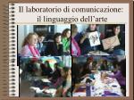 il laboratorio di comunicazione il linguaggio dell arte