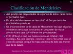 clasificaci n de mendeleiev1